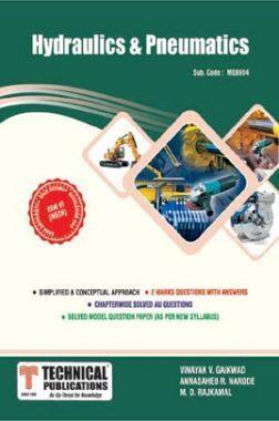 Hydraulics And Pneumatics For Anna University