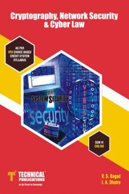 Cryptography, Network Security & Cyber Law For VTU