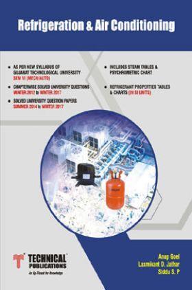 Refrigeration & Air Conditioning For GTU University (VI - MECH. - 2161908)