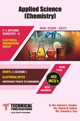 Applied Science - Chemistry For MSBTE