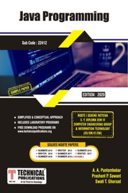 Java Programming For MSBTE