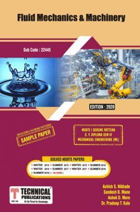 Fluid Mechanics & Machinery For MSBTE