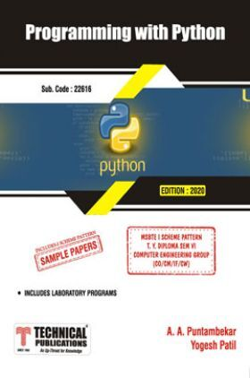 Programming with Python For MSBTE