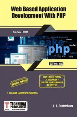 Web Based Application Development WITH php For MSBTE