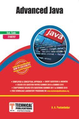 Advanced Java For GTU University (VI - CSE/IT - 2160707)