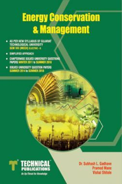Energy Conservation And Management For GTU University (VIII - MECH. - 2181916)