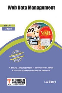 Web Data Management For GTU University (VIII - CSE/IT - 2180713)