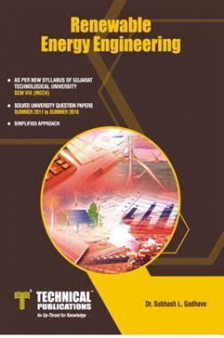 Renewable Energy Engineering For GTU University (VIII - MECH. - 2181910)