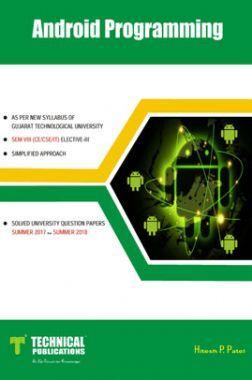 Android Programming For GTU University (VIII- CSE/IT - 2180715)