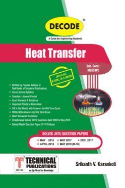Heat Transfer For JNTU-H 16 Course (III - II - Mech. - ME603PC)