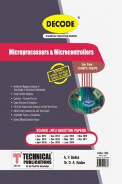 Microprocessors & Microcontrollers For JNTU-H 16 Course (III - II - ECE - EC602PC)