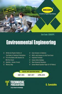 Environmental Engineering For JNTU-H 16 Course (III - II - Civil - CE602PC)