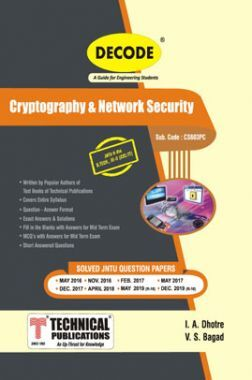 Cryptography & Network Security For JNTU-H 16 Course (III - II - CSE/IT - CS603PC)