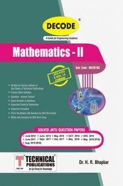 Mathematics - II For JNTU-H 18 Course (II - I - Common- MA201BS)