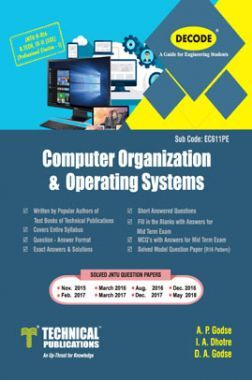 Computer Organization And Operating System For JNTU-H 16 Course (III - II - ECE - EC611PE)
