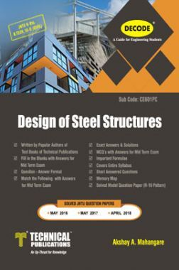 Design of Steel Structures For JNTU-H 16 Course (III - II - Civil - CE601PC)