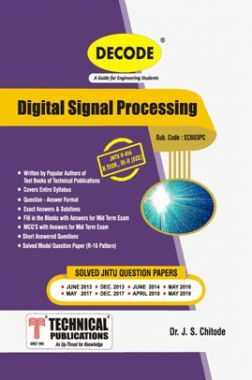 Digital Signal Processing For JNTU-H 16 Course (III - II - ECE - EC603PC)