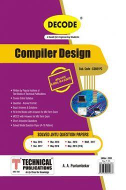 Compiler Design For JNTU-H 16 Course (III - II - CSE/IT -CS601PC)