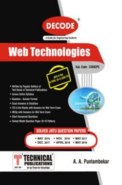 Web Technologies For JNTU-H 16 Course (III - II - CSE/IT - CS602PC)