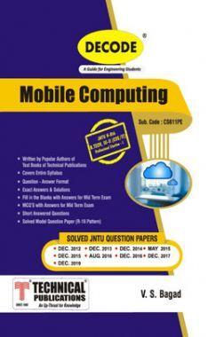 Mobile Computing For JNTU-H 16 Course (III - II - CSE/IT - CS611PE)