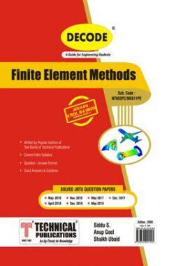 Finite Element Methods For JNTU-H 16 Course (III - II - Mech. - ME611PE)