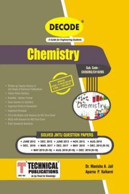 Chemistry For JNTU-H 18 Course (I - II - ME/AE/Civil/ECE - CH102BS)