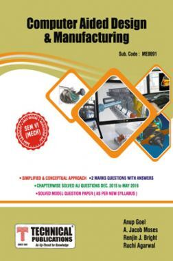 Computer Aided Design & Manufacturing For Anna University  R17CBCS (VI - MECH - ME8691)