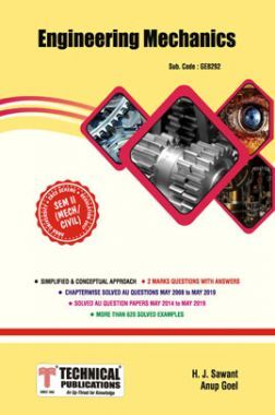 Engineering Mechanics For Anna University  R17 CBCS ( II - CIVIL/MECH - GE8292)