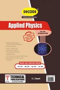 Appied Physics For JNTU-H 18 Course (I - II -ECE - AP202BS)