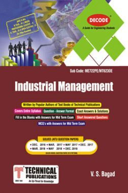 Industrial Management For JNTU-H 16 Course (OPEN ELECTIVE - II) (III - II - Common - MT623OE)