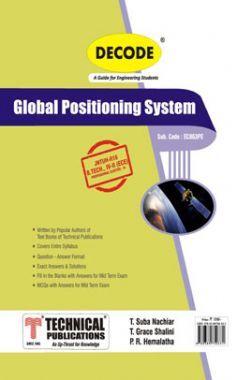Global Positioning System For JNTU-H 16 Course (IV - II - ECE- EC863PE)