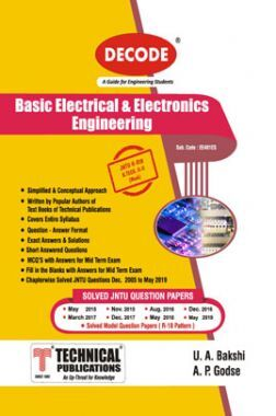 Basic Electrical And Electronics Engg. For JNTU-H 18 Course (II - II - Mech. -EE401ES)