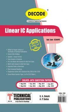 Linear IC Applications For JNTU-H 18 Course (II - II - ECE - EC404PC)
