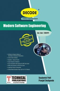 Modern Software Engineering For JNTU-H 16 Course (IV - II -CSE - CS854PE)