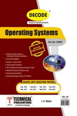 Operating Systems For JNTU-H 18 Course (II - II - CSE/IT - CS403PC)