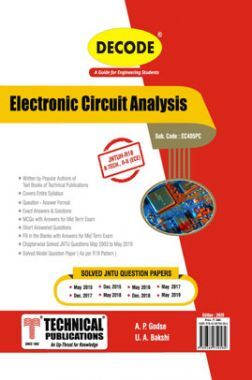 Electronic Circuit Analysis For JNTU-H 18 Course (II - II - ECE - EC405PC)