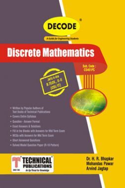 Discrete Mathematics For JNTU-H 18 Course (II - II - CSE/IT - CS401PE)