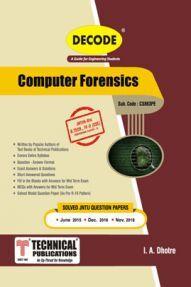 Computer Forensics For JNTU-H 16 Course (IV - II -CSE - CS863PE)