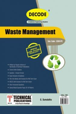Waste Management For JNTU-H 16 Course (IV - II - Civil - CE851PE)