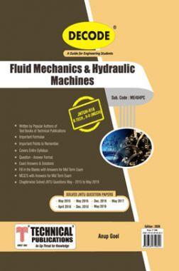 Fluid Mechanics And Hydraulic Machines For JNTU-H 18 Course (II - II - Mech. - ME404PC)