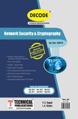 Network Security & Cryptography For JNTU-H 16 Course (IV - II - ECE - EC851PE)