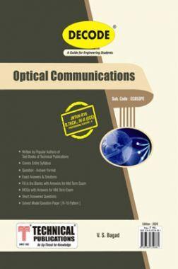 Optical Communication For JNTU-H 16 Course (IV - II - ECE- EC853PE)