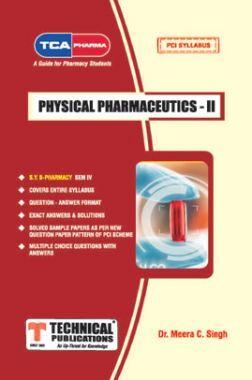 Physical Pharmaceutics II For  B. PHARMACY  PCI 17  (IV - BP403T)