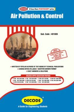 DECODE Air Pollution & Control For SPPU 15 Course (BE - II - Civil - 401009)