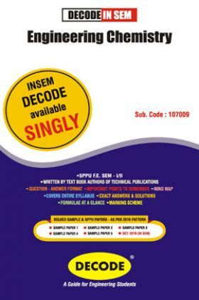 DECODE Engineering Chemistry For SPPU 19 Course (FE - II - Common - 107009) (IN SEM)