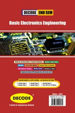 DECODE Basic Electronics Engineering For SPPU 19 Course (FE - II - Common - 104010) (END SEM)