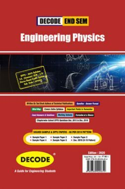 DECODE Engineering Physics For SPPU 19 Course (FE - II - Common - 107002) (END SEM)