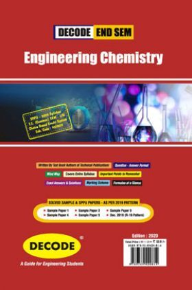 DECODE Engineering Chemistry For SPPU 19 Course (FE - II - Common - 107009) (END SEM)