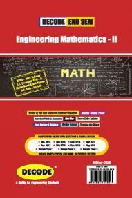 DECODE Engineering Mathematics - II For SPPU 19 Course (FE - II - Common - 107008) (END SEM)