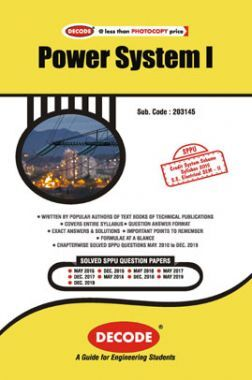 DECODE Power System I For SPPU 15 Course (SE - II - Electrical - 203145)